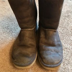 UGG Brown Short Boots Size 11